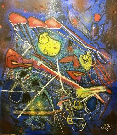 Roberto Matta, 'Redness of blue', 1996