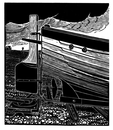 James Dodds, ' Stern of an Aldeburgh Beach Boat'
