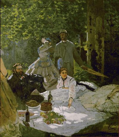 Claude Monet, 'Le Déjeuner sur l'herbe (Luncheon on the Grass)', 1865-1866