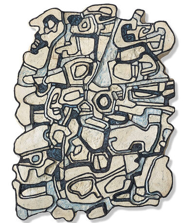 Jean Dubuffet, 'Blue element V', 1967