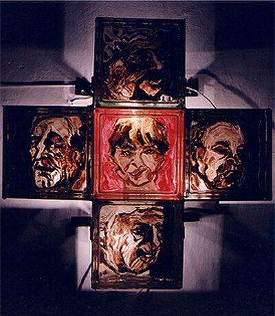 Isack Kousnsky, 'Political Confusion (Cross #5)', 1991