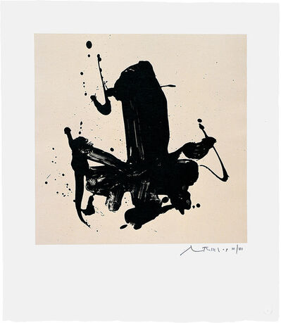 Robert Motherwell, 'Untitled', 1978