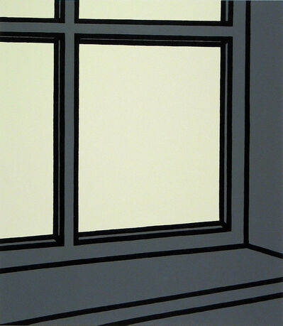 Patrick Caulfield, 'Along a twilighted Sky', 1973