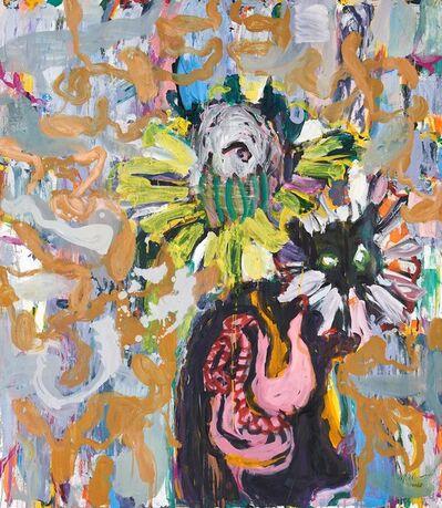 Misheck Masamvu, 'Untitled (flowerhead)', 2017