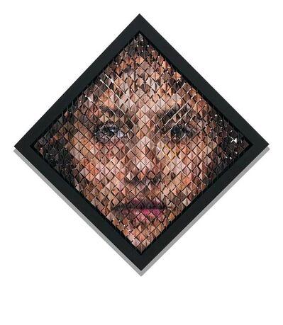 Pablo Boneu, 'Retrato aleatorio femenino', 2020