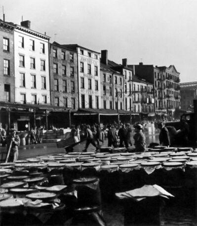 Andreas Feininger, 'Fulton Fish Market', 1946