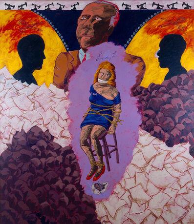Robert Colescott, 'Oil Man', 1990