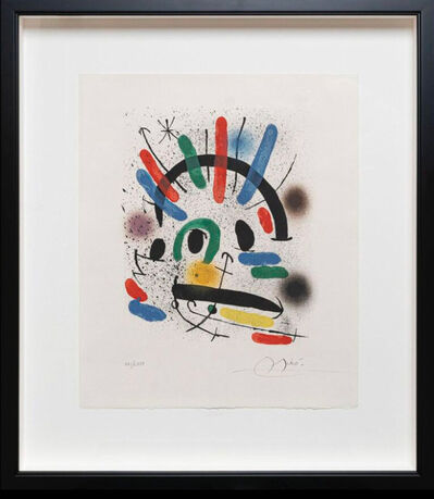 Joan Miró, 'Untitled', 1972