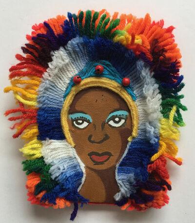 Nzuji De Magalhaes, 'African Princess', 2002