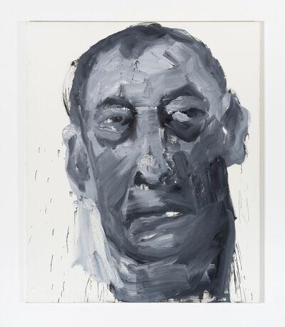 Yan Pei-Ming, 'Kasper König, 29.11.93', 1993