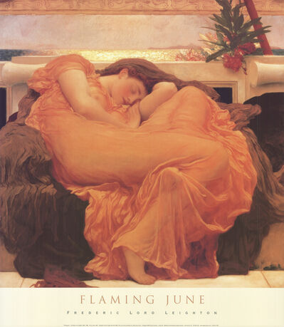 Lord Frederic Leighton, 'Flaming June', 2002