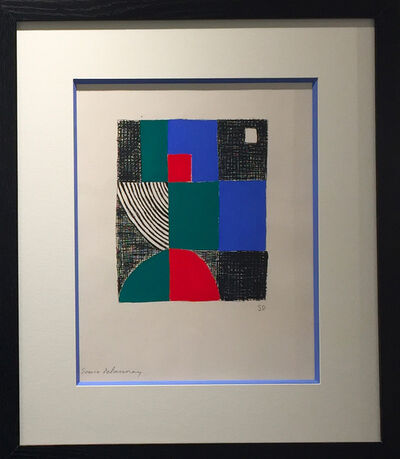 Sonia Delaunay, 'Juste présent', 1961