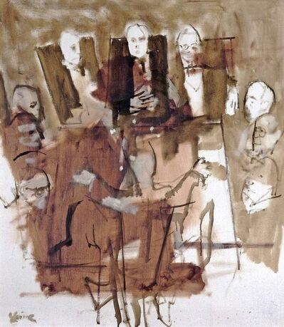 Jack Levine, 'Board Room', 1965
