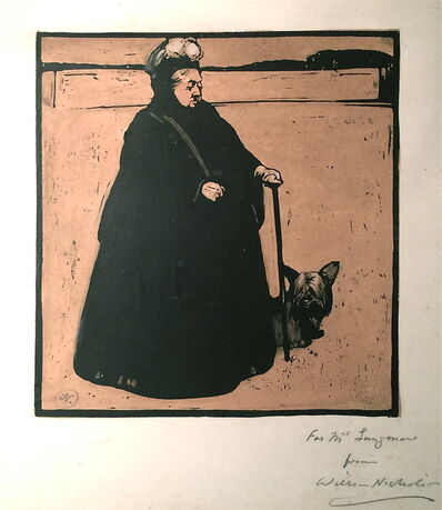 William Nicholson, 'Queen Victoria', 1897