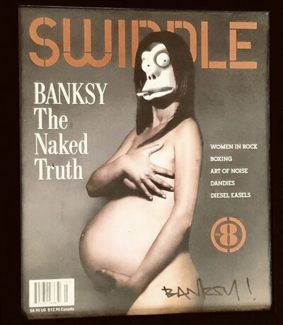 Banksy, 'Signed Swindle Magazine with Banksy cover. One of 10 -15 ever signed.', 2006