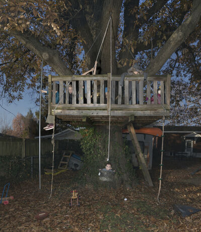 Julie Blackmon, 'Treehouse', 2020