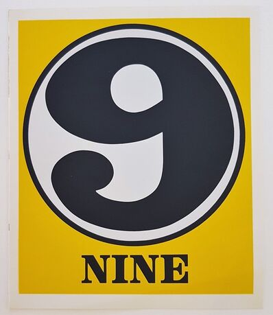 "Robert Indiana, 'Numbers Suite: ""Nine""', 1968"
