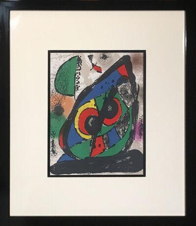 Joan Miró, 'Litografia Original I', 1972