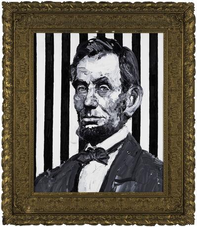 Hunt Slonem, 'Pres. Abraham Lincoln', 2019