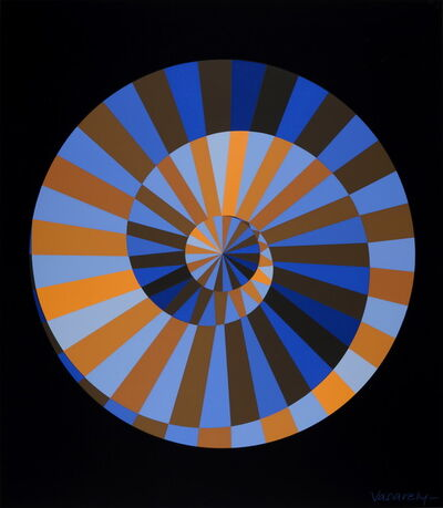 Victor Vasarely, 'Olympia', ca. 1971