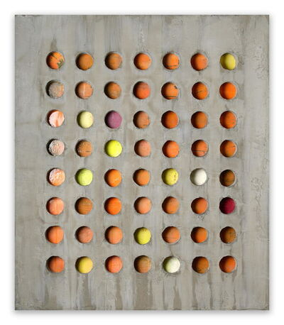 Pierre Auville, '56 Circles', 2014