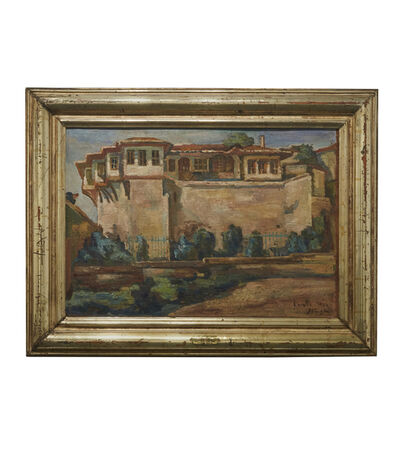 Mohammed Naghi, 'Al Takiya Almasriya Fi Kawala (The Egyptian House in Cavalla)', 1934