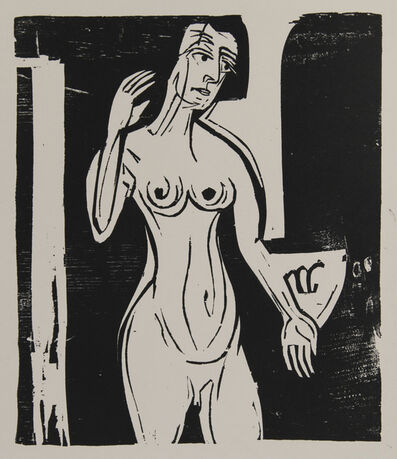 Ernst Ludwig Kirchner, 'Badende (Bathing Woman)', 1927