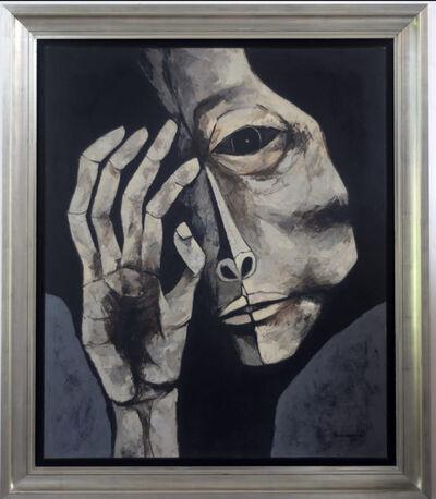 Oswaldo Guayasamín, 'Cabeza y Mano ', 1980