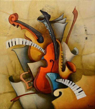 Emanuel Mattini, 'Mosaic Orchestration VIII', 2010-2019