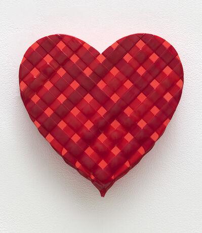 Linda Stark, 'Perylene Heart Weave', 2020