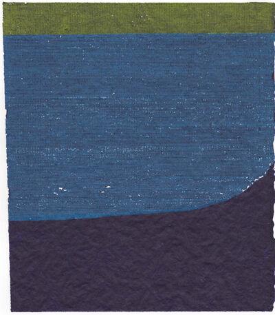 Allyson Strafella, 'green, blue, purple', 2018