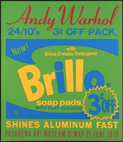Andy Warhol, 'Brillo ', 1970