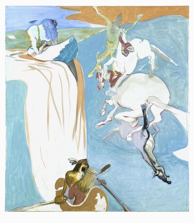 Siegfried Anzinger, 'Blauer Wasserfall', 2011