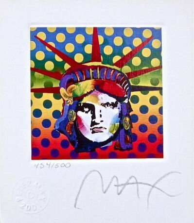 Peter Max, 'Liberty Head V', 2001