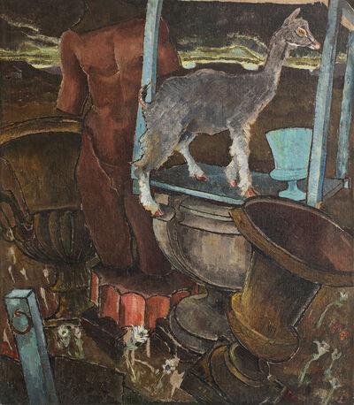 Morris Graves, 'Kid Goat in an Abandoned Garden', 1934-1935