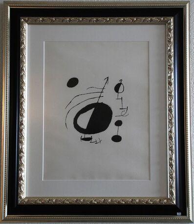 Joan Miró, 'Les Essencies de la Terra', 1968