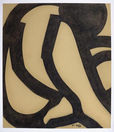 Jan Yoors, 'Jan Yoors, Charcoal Drawing G-48.0, USA, 1975', 1975