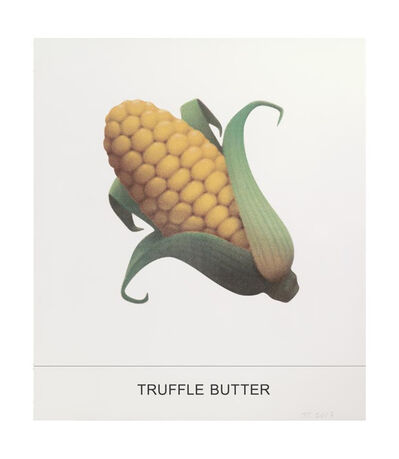 John Baldessari, 'Truffle Butter', 2017
