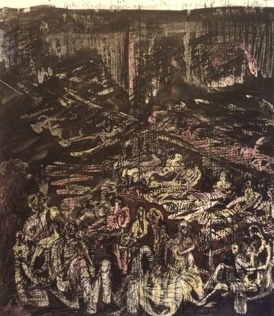 Henry Moore, 'Untitled XXVII (Shelter Sketchbook)', 1967
