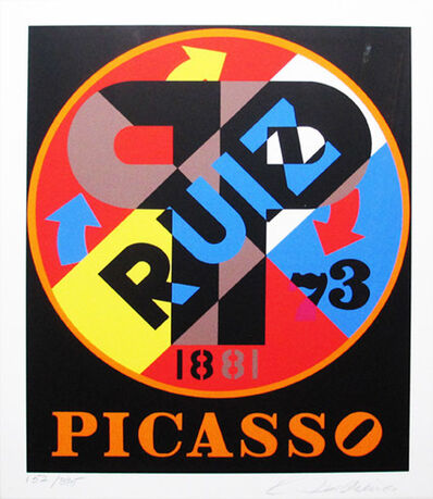 Robert Indiana, 'The American Dream (Picasso)', 1996