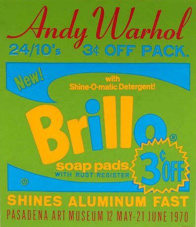 Andy Warhol, 'Brillo Soap Pads', 1970