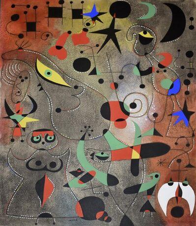Joan Miró, 'Le reveil au petit jour (Awakening in the Early Morning), Plate XIV', 1959