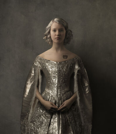 Marie Cecile Thijs, 'Girl in the Silver Dress', 2016