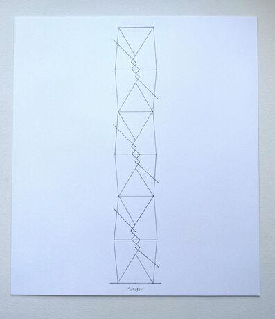 "Jonathan Seliger, '""Endless Takeout "" Study - 6 Units', 2010"
