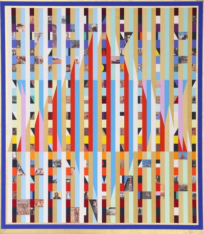 Yaacov Agam, 'Homage to Israel', ca. 1975