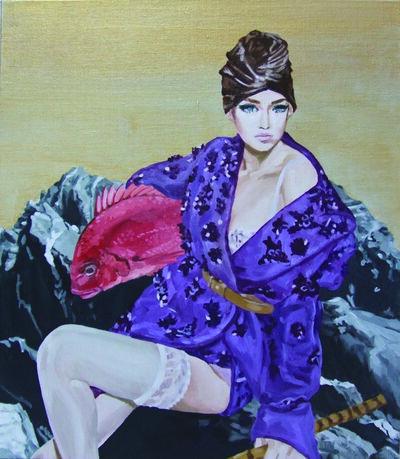 Saki Sumida, 'Ebisu', 2016