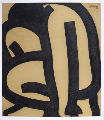 Jan Yoors, 'Jan Yoors, Charcoal Drawing G-48.12, USA, 1975', 1975