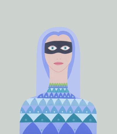 Fulvia Mendini, 'Donna con maschera', 2015