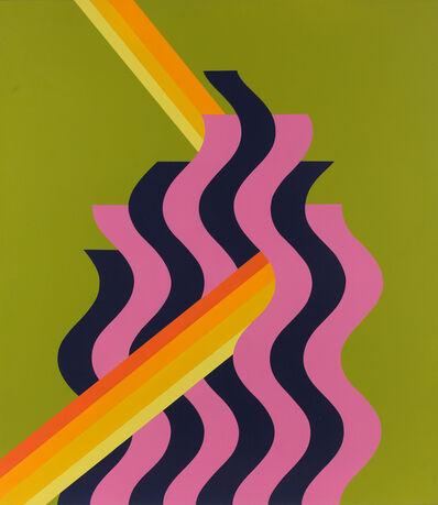 Mohammed Melehi, 'Pink Flame', 1972