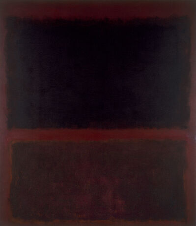 Mark Rothko, 'Black on Dark Sienna on Purple', 1960